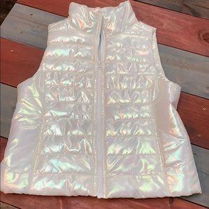 Live Love Dream Iridescent Puffy Vest